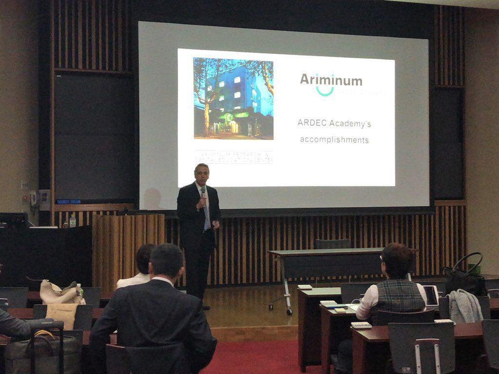 ARDEC congress in Osakaの様子